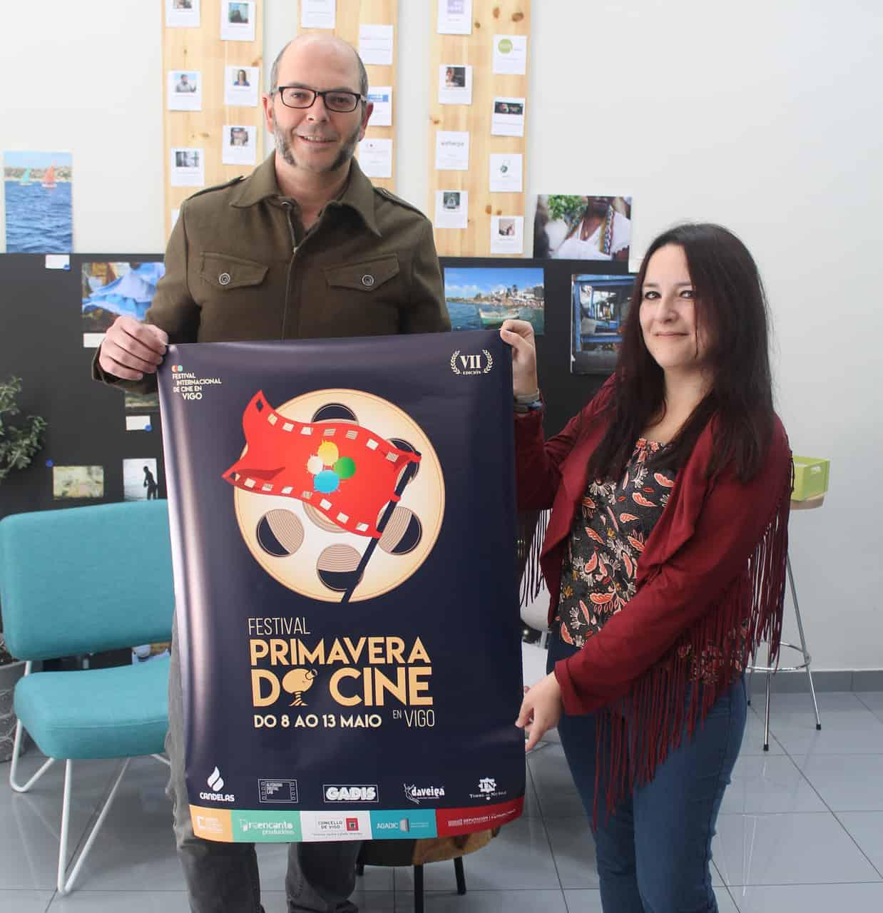 María Llauger é a deseñadora do cartel do Primavera do Cine en Vigo
