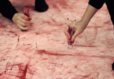 Até que meus dedos sangren
